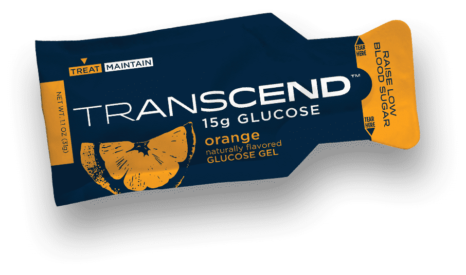 Transcend Orange Fruit Pouch