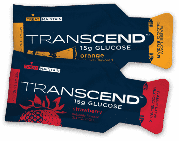 Transcend Strawberry and Orange Fruit Pouches